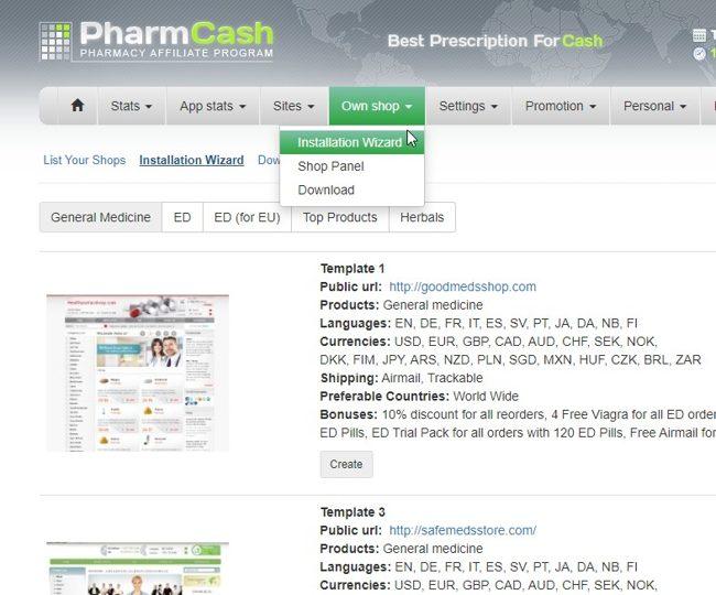 Создание онлайн-аптеки